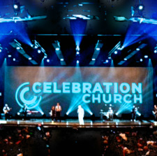 Celebration Church - main screen